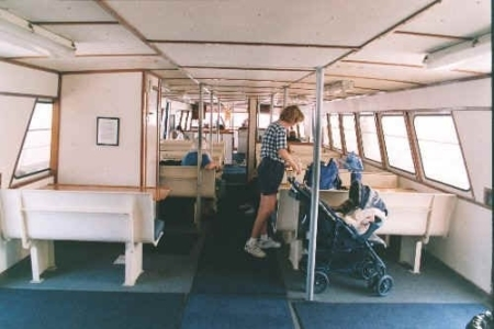 Interior Cabin of the Privateer IV